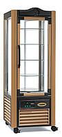 Шкаф-витрина кондитерский (цвет коричневый) ERG 400N