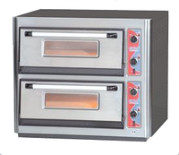Печь для пиццы 2х-камерная (на 10) P 622 Euro Gastro Star