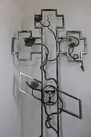 Крест кованый намогильный, фото 1