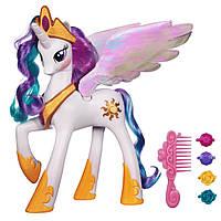 Май литл пони большая интерактивная принцесса Селестия высотой 22 см. Оригинал Hasbro