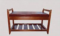 Скамейка для обуви Юта 3 (с нишей) , фото 1