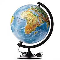 Глобус політичний з підсвіткою 22 см
