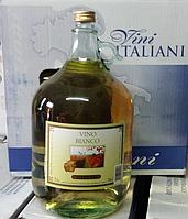 Белое сухое вино Bianko Gielle 5 л