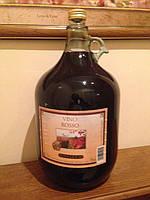 Вино красное сухое Rosso Gielle 5л