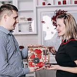 """Пряниковий набір для коханих """"Red Love"""", фото 4"""