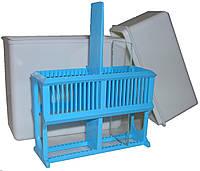 Пластмассовый непрозрачный сосуд-контейнер ОС 250-ЕКА