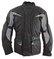 Roleff Cologne Jacket Black/Grey, XS Мотокуртка текстильная с защитой