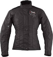 Roleff Ladylike Jacket Black, DXS Мотокуртка текстильная женская с защитой