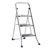 Металлическая стремянка лестница 107см на три ступеньки