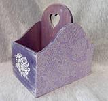 Набор подарочный Сиреневое кружево, ручная работа, фото 3