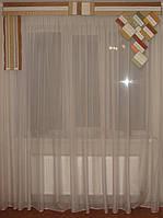 Жесткий ламбрикен МИНИ 2м, беж, фото 1
