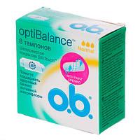 O.b. Opti Balance Normal Тампоны 8 шт