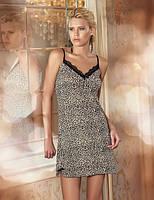 Ночная сорочка (рубашка) Sahinler 144 леопардовая