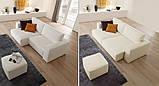 Итальянский модульный диван Byron с выдвижными подушками сиденья фабрика Felis, фото 6