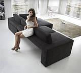 Итальянский модульный диван Byron с выдвижными подушками сиденья фабрика Felis, фото 5
