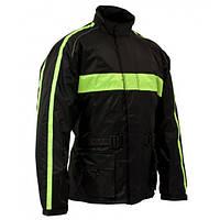 Roleff RO 1001 Rain Jacket Black/Neon Yellow, XS Мотокуртка дождевая