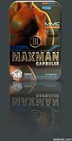MAXMAN III Максмен ІІІ Максимен 3 Капсулы Препараты для повышения потенции