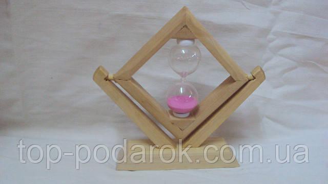 Песочные часы бамбуковые размер 16*15
