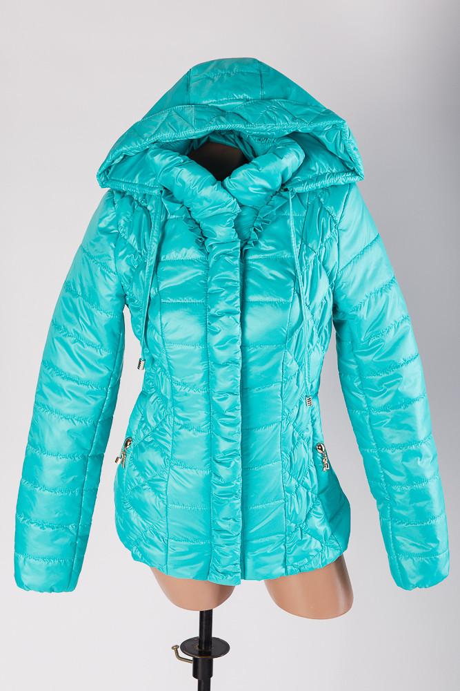 Демисезонная куртка молодежная прямая Замочек от производителя , фото 1