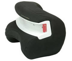 Защитная подушка Jane Xtend категории 1+ для автокресел категории 2/3, цвет черный