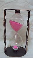 Песочные часы металлические размер 16*9, фото 1