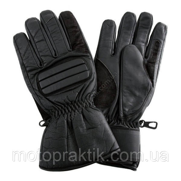 Roleff RO 500 Leather Gloves Black, XS Мотоперчатки кожаные