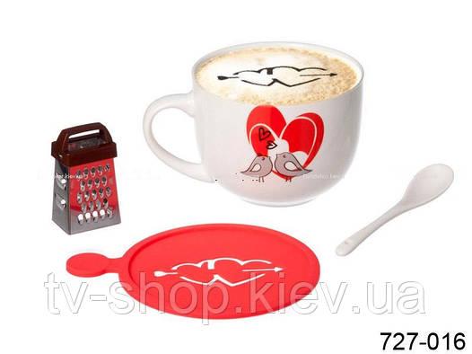 """Чайный набор 4 в 1 """"Моя любовь """""""