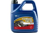 Масло моторное VAT-OIL SynGold LL-III Plus 5W-30 4л VW504.00/507.00
