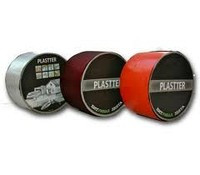 Гидроизоляционная битумная лента Plastter терракота 10см*10м