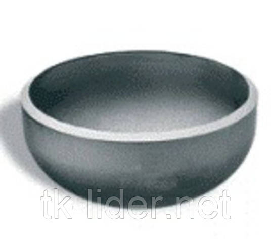 Заглушки стальные Ду125, фото 2