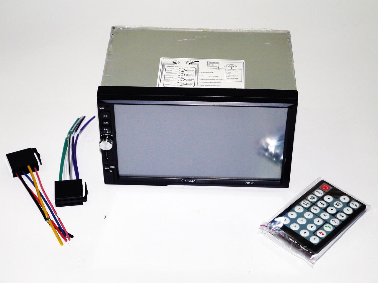 "2Din Pioneer 7012 7"" Экран Магнитола USB+Bluetooth"