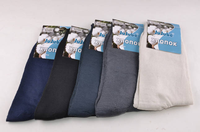 Мужские носки однотонные (F501-1) | 12 пар, фото 2