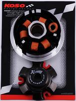 Вариатор передний (тюнинг) 4T GY6 125 (медно-графитовая втулка, ролики латунь) KOSO