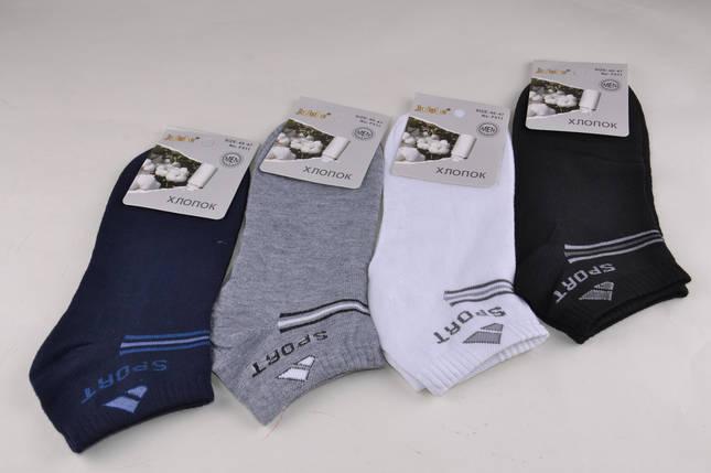 Мужские носки заниженные однотонные (F511-15) | 12 пар, фото 2