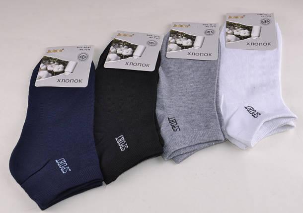 Мужские носки заниженные однотонные (Aрт. F511-9), фото 2