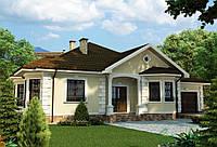 Строительство дома из сип панелей 156,95м.кв. «ДИОНИС»
