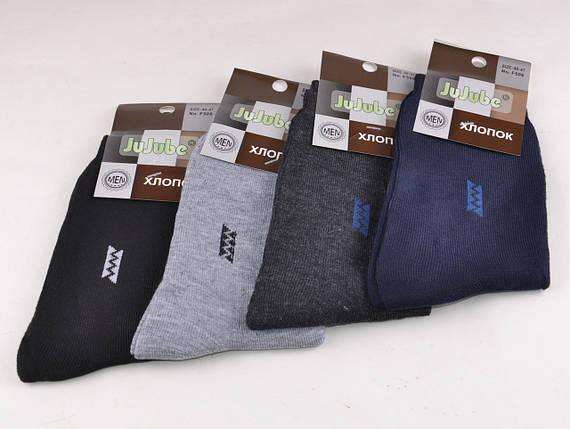 Мужские носки однотонные с рисунком (F506-1) | 12 пар, фото 2