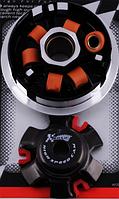 Вариатор передний (тюнинг) 4T GY6 150 (медно-графитовая втулка, ролики латунь) KOSO