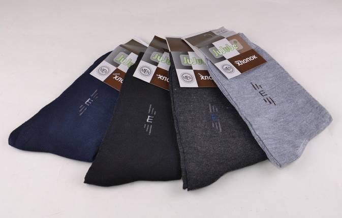 Мужские носки однотонные с рисунком (F506-18) | 12 пар, фото 2