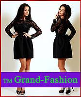 Платье =Стильное платье BABYDOLL= цвет чёрный с чёрным