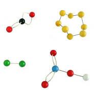 Набір атомів для складання об'ємних моделей молекул (лабораторний)