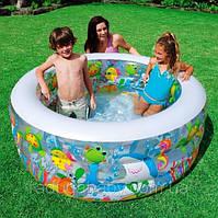 """Детский надувной бассейн """"Аквариум"""" Intex 58480"""
