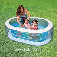 Детский надувной бассейн овал Intex 57482