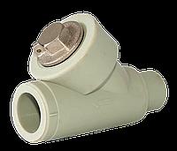 Фильтр грубой очистки ппр 20 ВН Tebo серый
