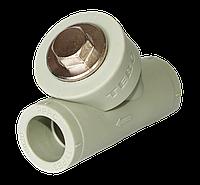 Фильтр грубой очистки ппр 25 ВВ Tebo серый