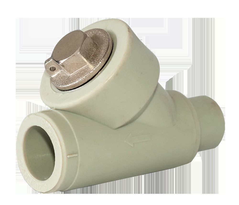 Фильтр грубой очистки ппр 25 ВН Tebo серый