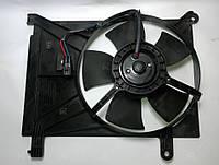 Дифузор с вентилятором на Дэо Ланос 1.4 1.5 1.6(Daewoo Lanos)