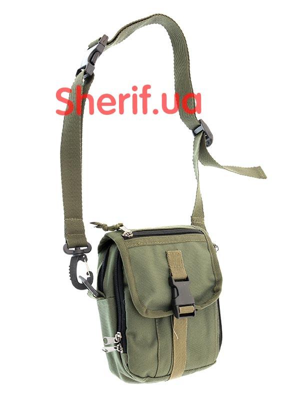 Сумка через плечо SN-2 тк.Оксфорд  Olive 6366  - Военторг Шериф в Днепре