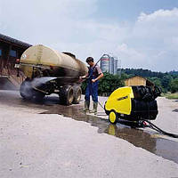 Аппарат высокого давления с подогревом воды KARCHER мойка сельхозтехники