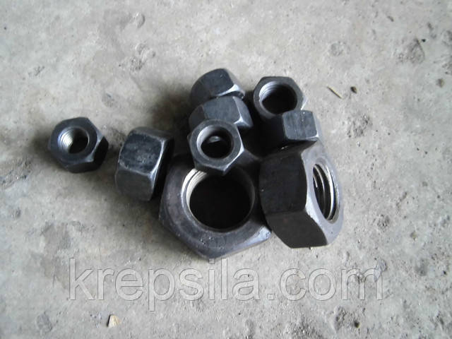 Гайка шестигранная М12 ГОСТ 10605-94, DIN 934, класс прочности 10.0 | Фотографии принадлежат предприятию Крепсила
